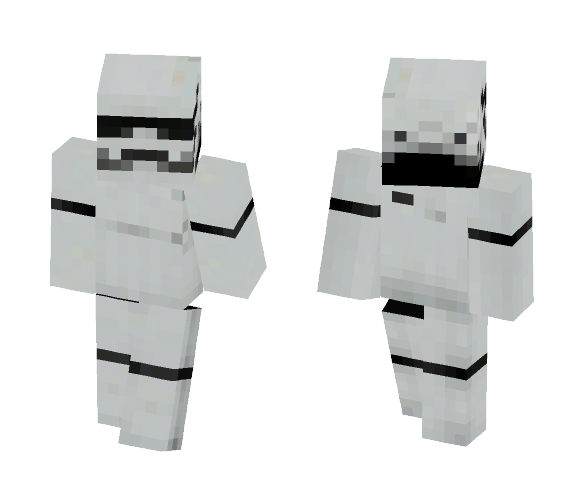 First Order Stormtrooper - Interchangeable Minecraft Skins - image 1