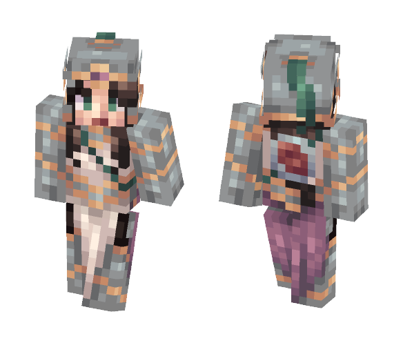 - Knight | Contest Submission - - Female Minecraft Skins - image 1