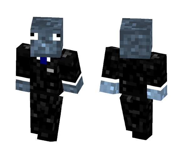 Squid Suit - Male Minecraft Skins - image 1