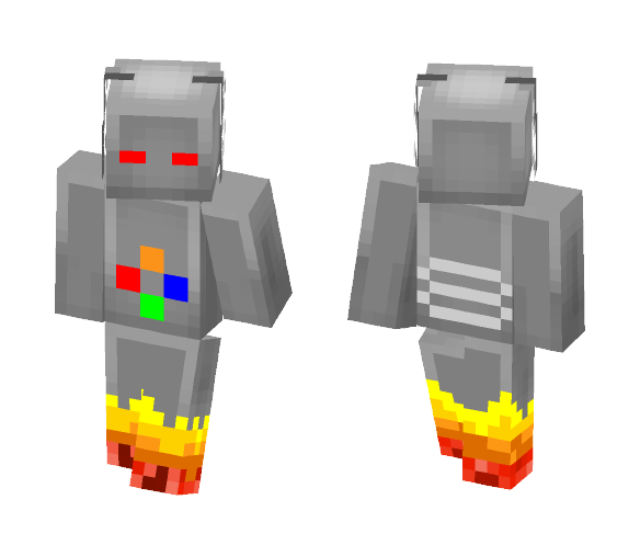 Robot - Interchangeable Minecraft Skins - image 1