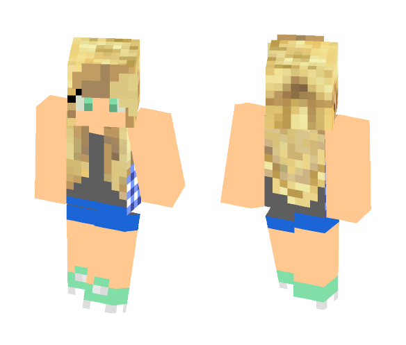 Brevil Odell - Female Minecraft Skins - image 1