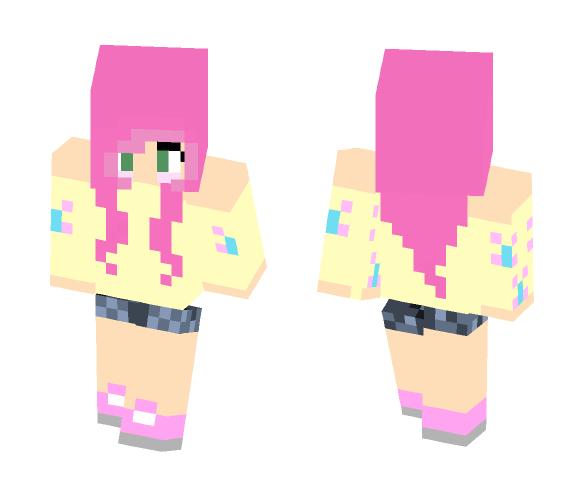 Fluttershy - Female Minecraft Skins - image 1