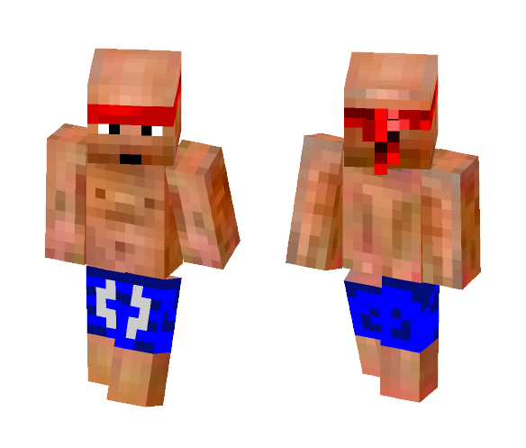 A Buff Guy - Male Minecraft Skins - image 1