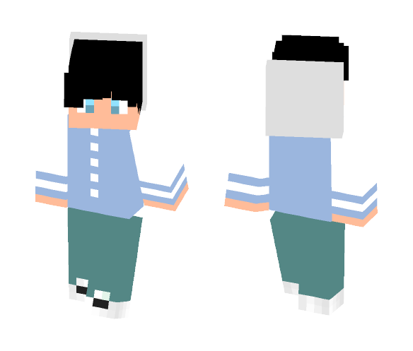 Zoomer Cloud - Male Minecraft Skins - image 1