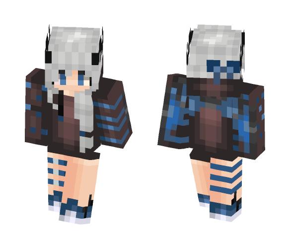 Dragon Girl - Female Minecraft Skins - image 1