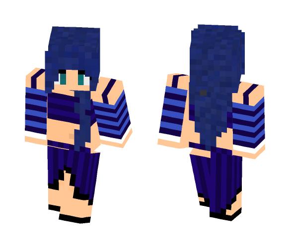 Blue girl - Female Minecraft Skins - image 1