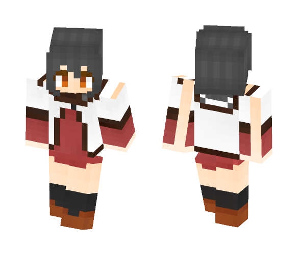 Yui from Yuru yuri - Female Minecraft Skins - image 1