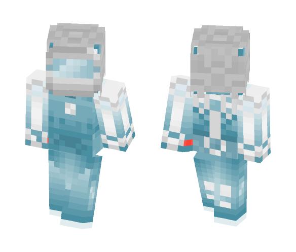 Blue Robot - Other Minecraft Skins - image 1