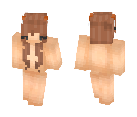 ♥ Fox Girl Base ♥ - Female Minecraft Skins - image 1