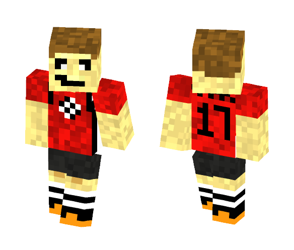 Soccer Player - Male Minecraft Skins - image 1