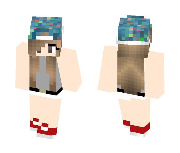 Joey Graceffa as a girl - Female Minecraft Skins - image 1