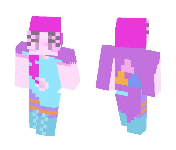 Pietersite crystal Fusion - Female Minecraft Skins - image 1