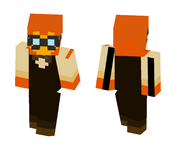 Undertale Grillby - Male Minecraft Skins - image 1