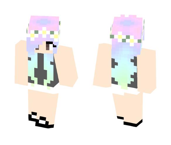 Pastel Girl (BACKUP) - Female Minecraft Skins - image 1