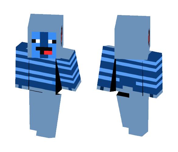 My OC Undertale Character - Male Minecraft Skins - image 1