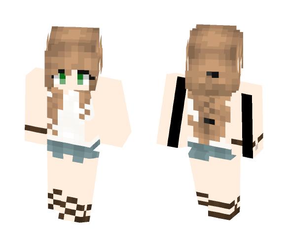 For Destiny? - Female Minecraft Skins - image 1