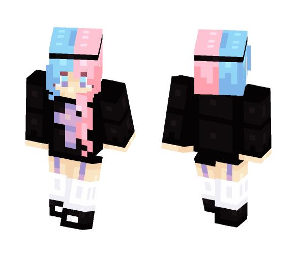 pastel babe - Female Minecraft Skins - image 1