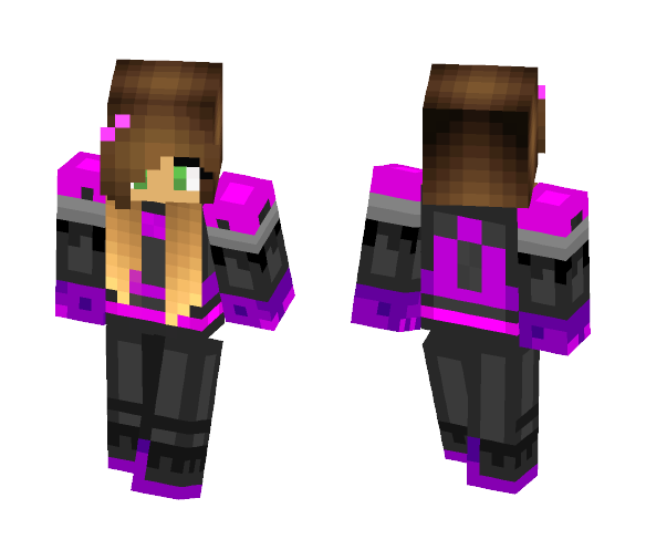Annaleigh | Dragonsbane - Female Minecraft Skins - image 1