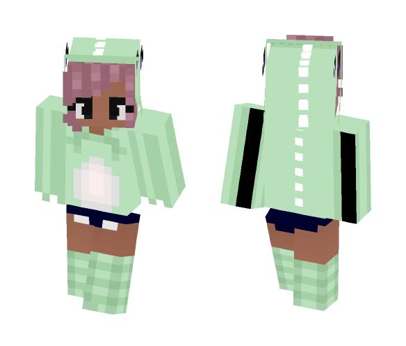 Chibi Dino girl - Female Minecraft Skins - image 1