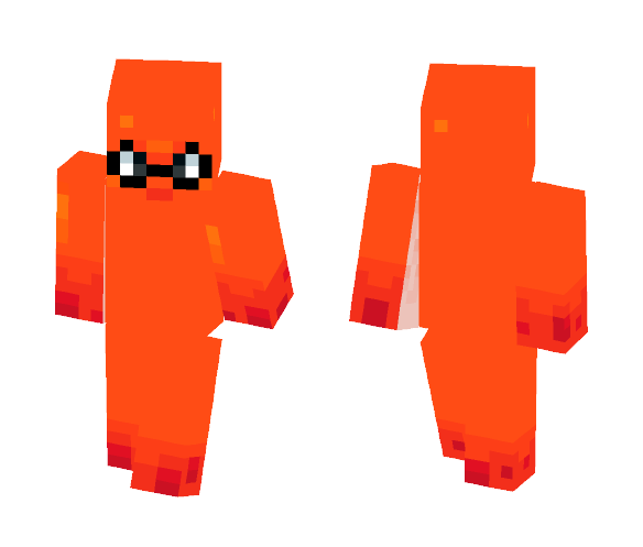 Splatoon Squid - Interchangeable Minecraft Skins - image 1