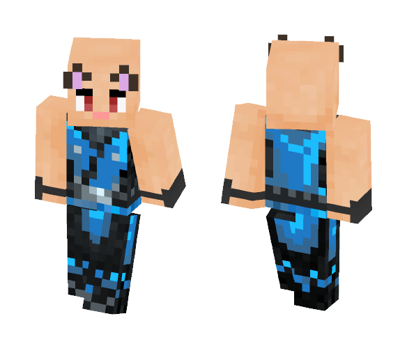 ¥ OP Bald Cat Man ¥ - Male Minecraft Skins - image 1