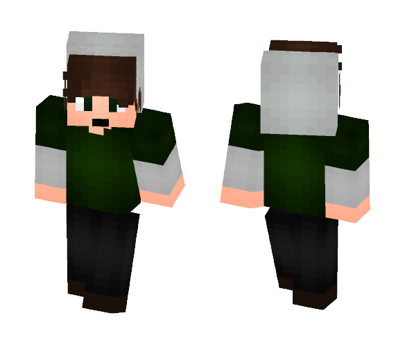 """The """"Positive Vibe guy"""" - Male Minecraft Skins - image 1"""