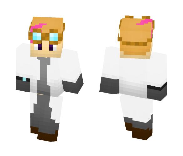 Chef Swifty's Scientist Skin! - Male Minecraft Skins - image 1
