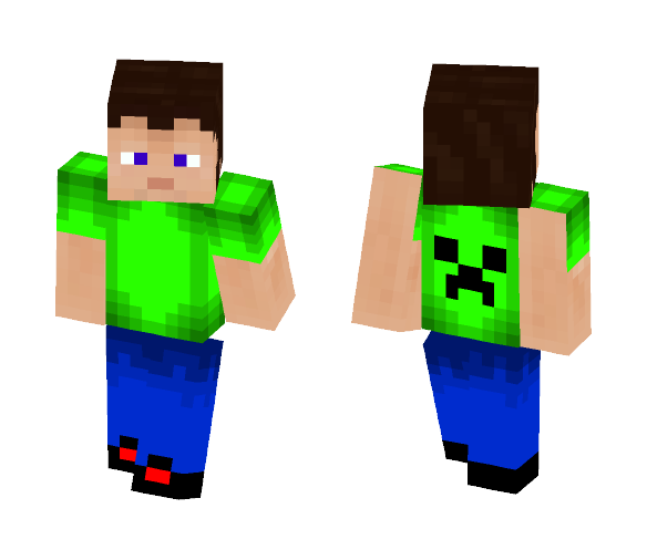 ????????????Creeper kid - Male Minecraft Skins - image 1