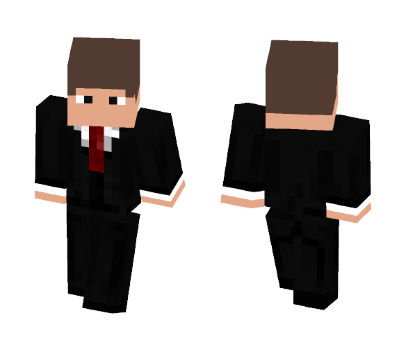 Man in a suit - Male Minecraft Skins - image 1