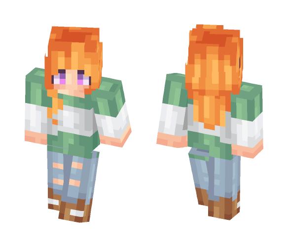 Leah - Female Minecraft Skins - image 1