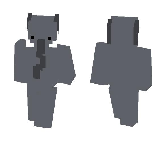 Kawii Elephant - Interchangeable Minecraft Skins - image 1