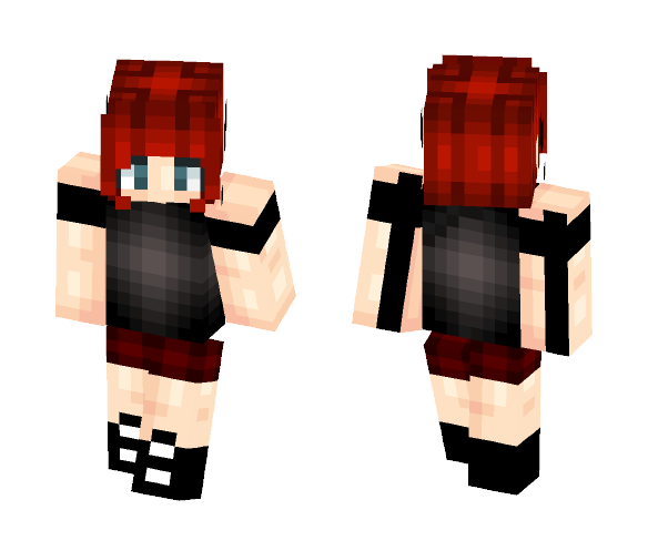 Demon Girl ~Neko - Girl Minecraft Skins - image 1