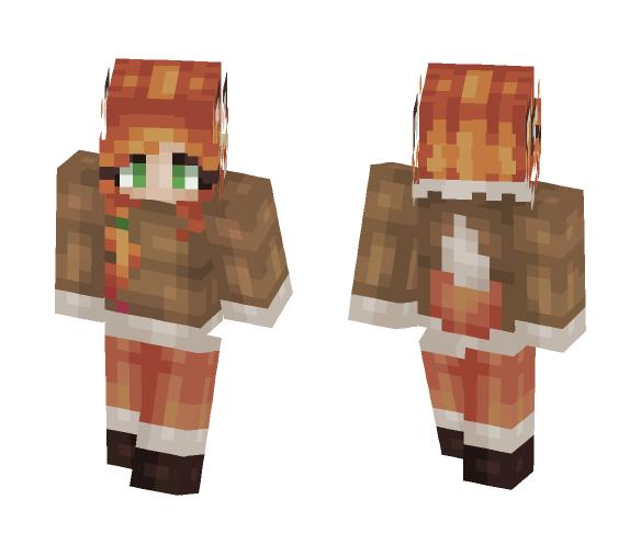 Cloud~ Fox (something simple) - Female Minecraft Skins - image 1