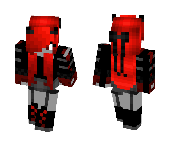 Devil Girl Red - Female Minecraft Skins - image 1
