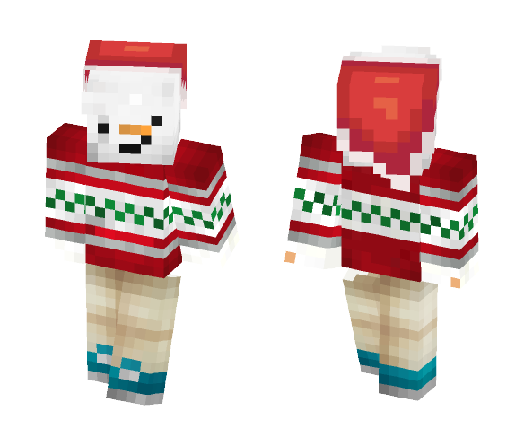 Christmas snowman | ♥'IceSoul ♥ - Christmas Minecraft Skins - image 1