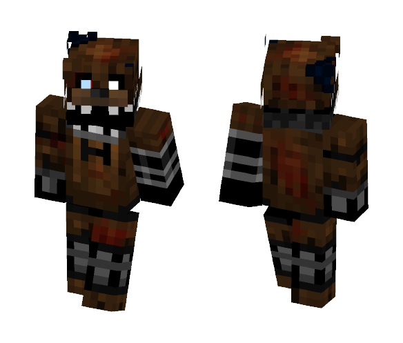 The Joy Of Creation: Ignited Freddy - Male Minecraft Skins - image 1