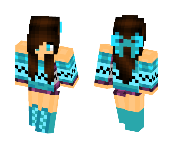 Friend Edit - Female Minecraft Skins - image 1