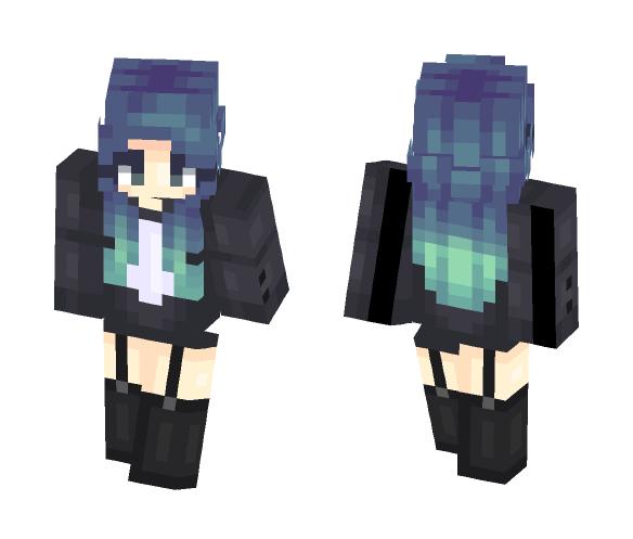 ???? | gasoline (popreel) - Female Minecraft Skins - image 1