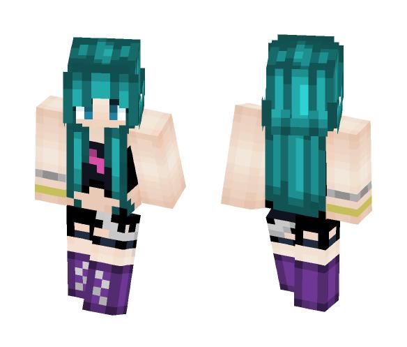Punk Girl - Female Minecraft Skins - image 1