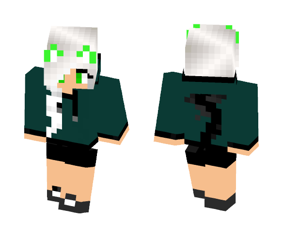 Travis girl Me'faw - Female Minecraft Skins - image 1