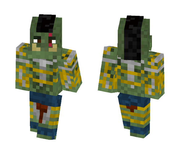 horned bator from panzar - Male Minecraft Skins - image 1
