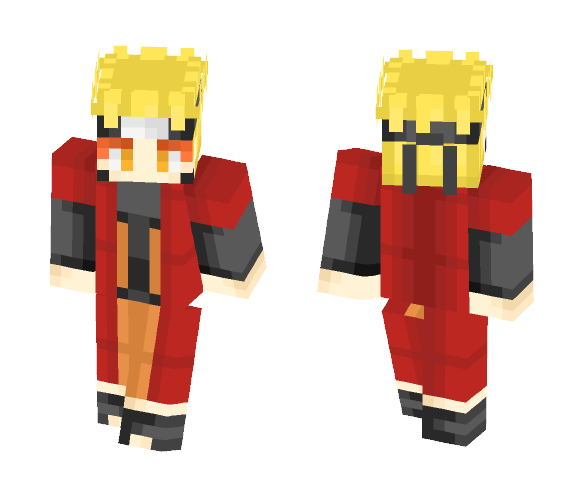 naruto sage mode - Male Minecraft Skins - image 1