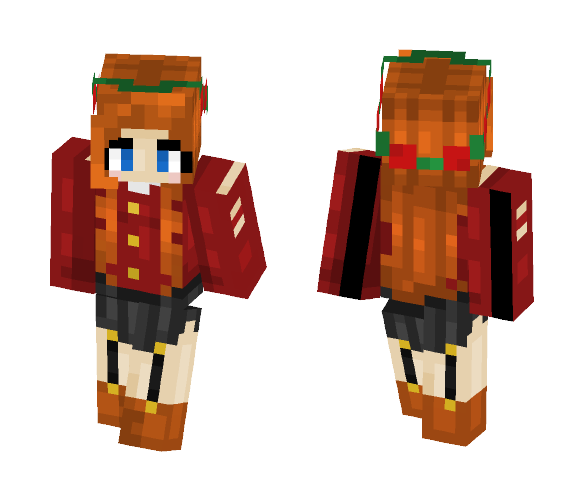 Rose - Female Minecraft Skins - image 1