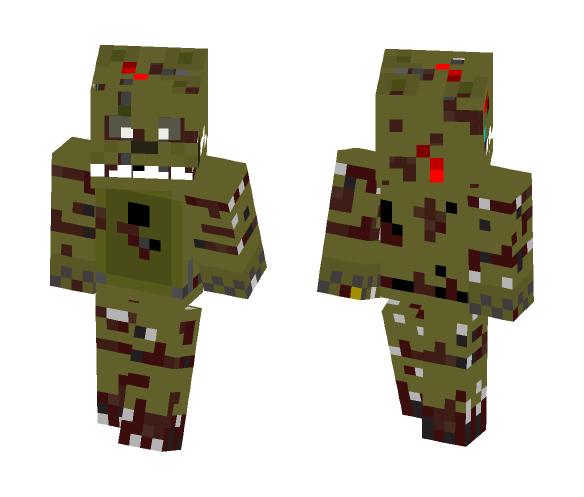 SpringTrap V.1 - Male Minecraft Skins - image 1