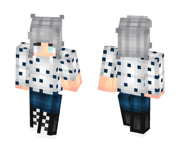 Grey ^w^ - Male Minecraft Skins - image 1