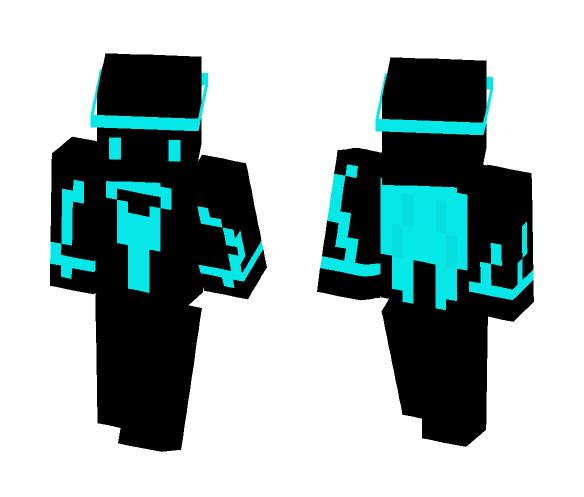 Angel Blue 1.8 64x64 - Other Minecraft Skins - image 1