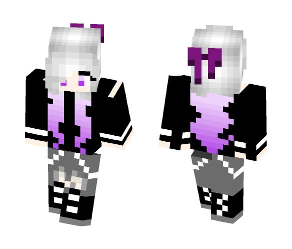 Scarlet NONghoul form - Female Minecraft Skins - image 1