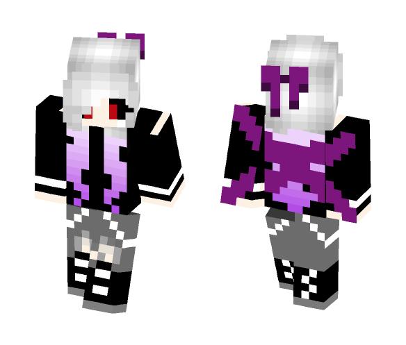 Ghoul Girl (Tokyo Ghoul) OC - Female Minecraft Skins - image 1