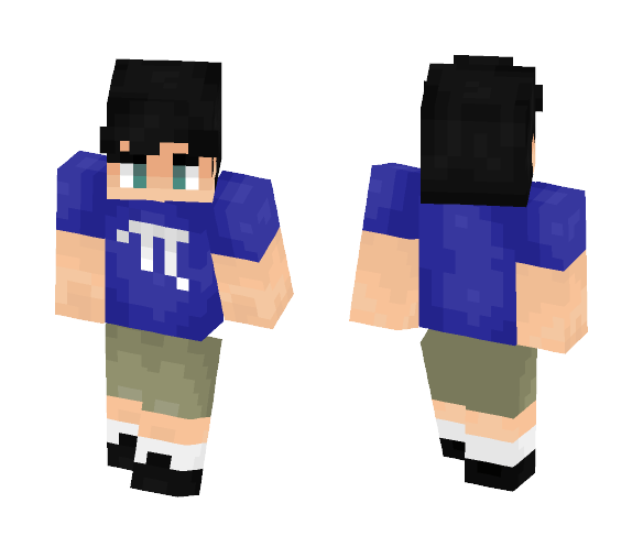 my brother for his birthday - Male Minecraft Skins - image 1