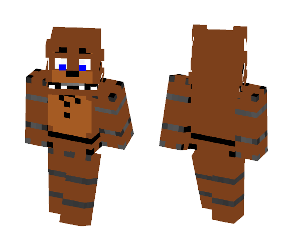 Unwithered Freddy - Male Minecraft Skins - image 1